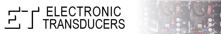 Electronic Transducers